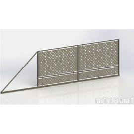 Sliding gate type BP 01