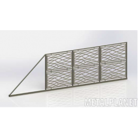 Sliding gate type BP 02