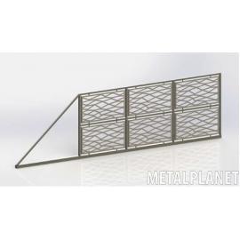 Sliding gate type BP 01