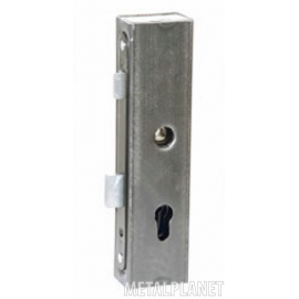 Lock case with a hole for the key