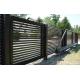 Linea sliding gate aluminum