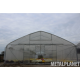 Polytunnel double-barred 288 m2