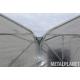 Tunel foliowy dwunawowy zblokowany 288 m2
