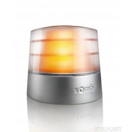 Pomarańczowa lampa ostrzegawcza z anteną io, 24V