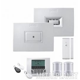 Alarm - zestaw startowy: LCD + syrena + centralka Somfy
