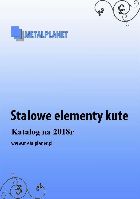 katalog 2018 elementy ogrodzeń